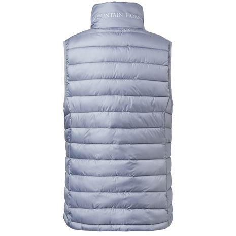 Mountain Horse Ambassador Vest JR - Rear View - Grey