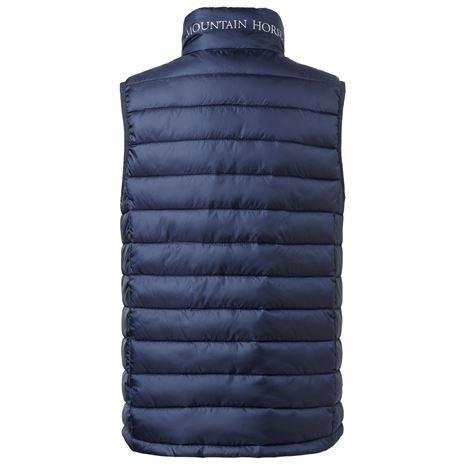 Mountain Horse Ambassador Vest JR -  Rear View - Navy