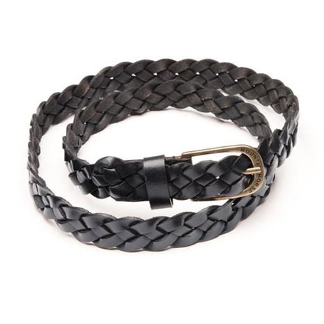 Mountain Horse MH Leather Belt - Black