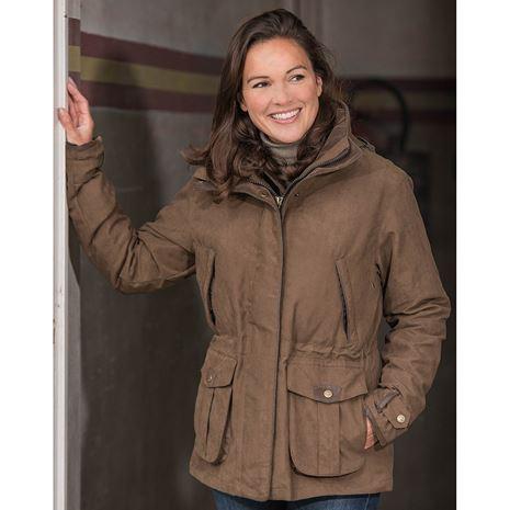 Baleno Ascot Womens Jacket - Chocolate