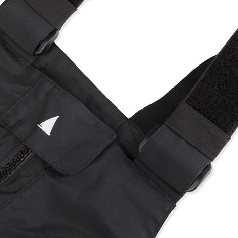 Musto Women's BR2 Offshore Trouser - Black/Black - Strap