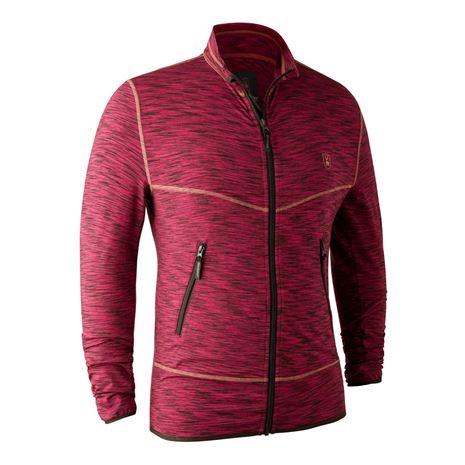Deerhunter Norden Insulated Fleece Jacket - Red Melange