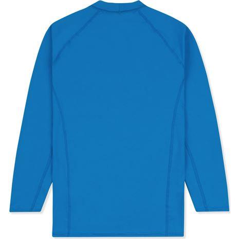 Musto Youth Insignia UV Fast Dry Long Sleeve T-Shirt - Brilliant Blue