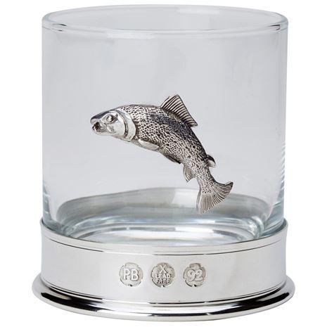 Bisley Whisky Glasses - Salmon