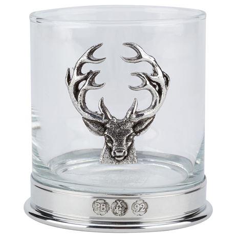 Bisley Whisky Glasses - Stag