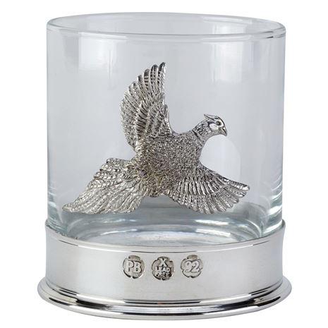 Bisley Whisky Glasses - Pheasant