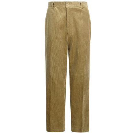 Hoggs of Fife Mid-Weight Cord Trousers - Beige
