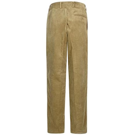 Hoggs of Fife Mid-Weight Cord Trousers - Beige - Rear