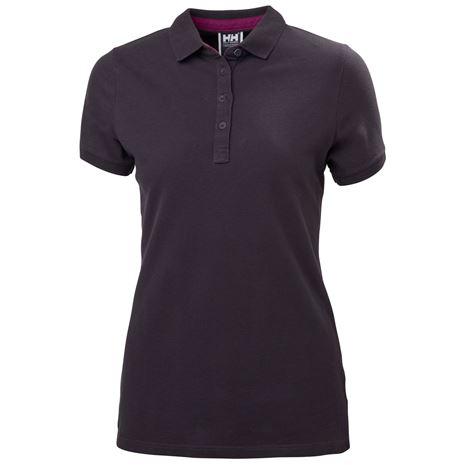 Helly Hansen Womens Crew Pique 2 Polo Shirt - Nightshade