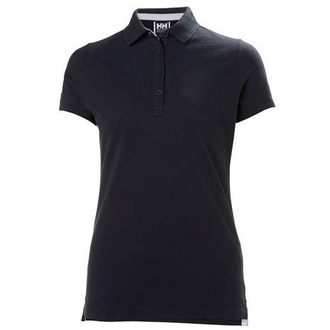 Helly Hansen Womens Crew Pique 2 Polo Shirt - Navy