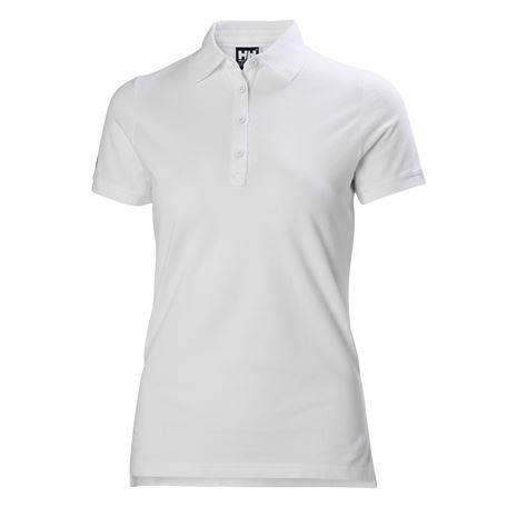 Helly Hansen Womens Crew Pique 2 Polo Shirt - White