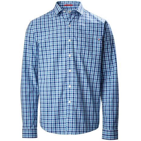 Musto Riviera Long Sleeve Shirt - Ford Blue Check