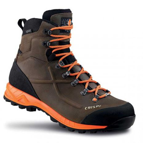 Crispi Valdres GTX Boots - Brown/Orange