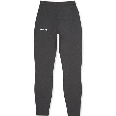Musto Thermal Base Layer Trousers - Dark Grey Marl