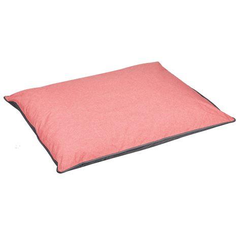 WeatherBeeta Waterproof Dog Pillow - Pink Grey