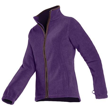 Baleno Sarah Women's Fleece Jacket - Violet