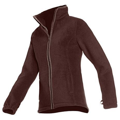 Baleno Sarah Women's Fleece Jacket - Chocolate