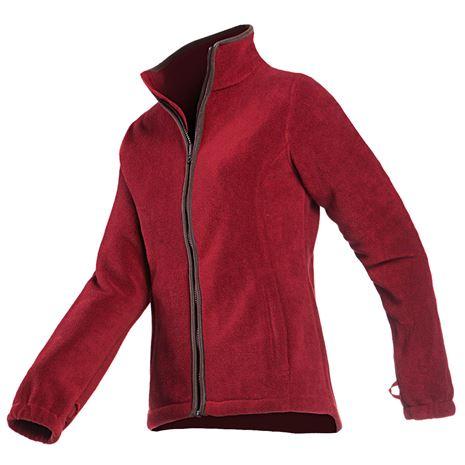 Baleno Sarah Women's Fleece Jacket - Burgundy