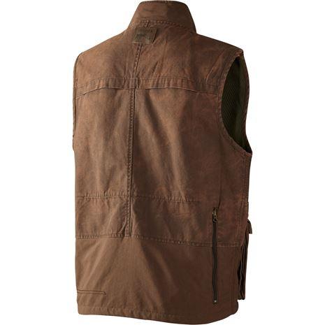 Harkila PH Range Waistcoat - Rear Dark Sand