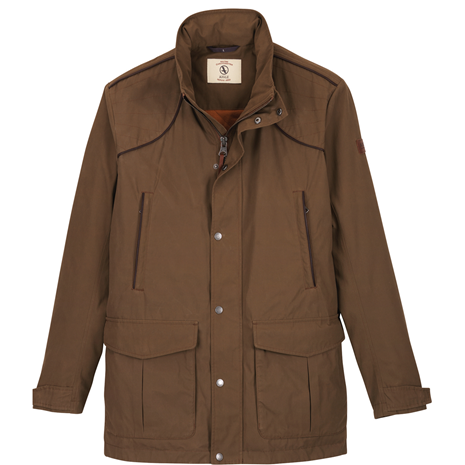 Aigle Signature Jacket - Brown