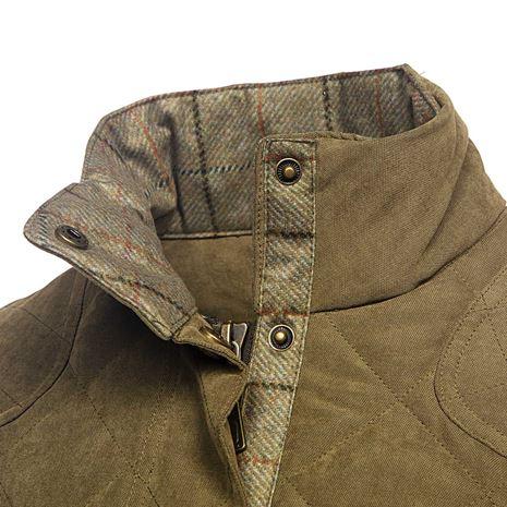 Baleno Halifax Women's Quilted Jacket - Light Khaki