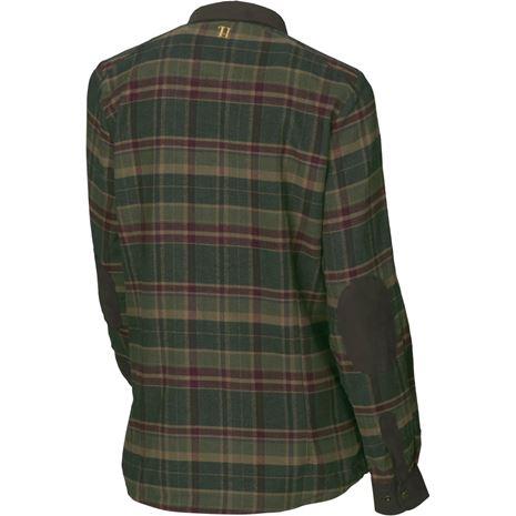 Harkila Pajala Lady Shirt - Rosin Green Check