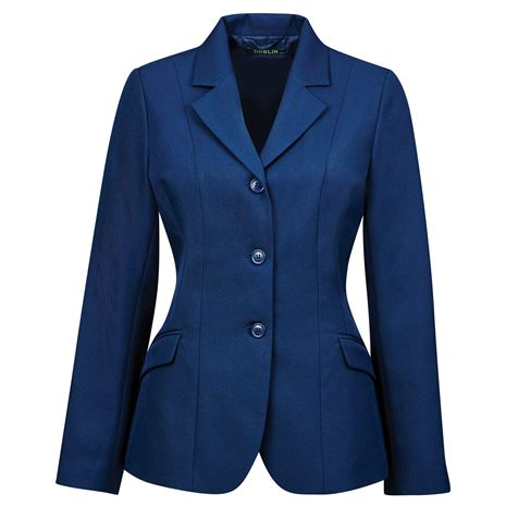 Dublin Ashby III Competition Riding Jacket - Navy