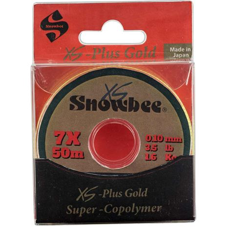 Snowbee XS-Plus Gold Super-Copolymer Line