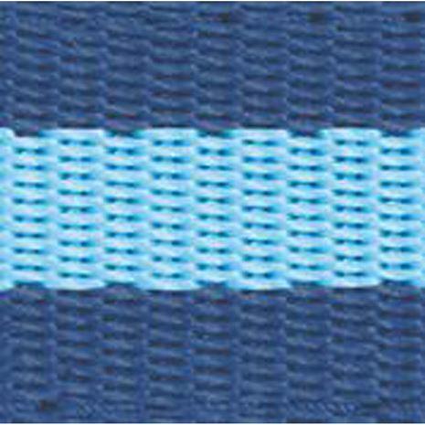 JHL Standard Headcollar - Navy/Light Blue