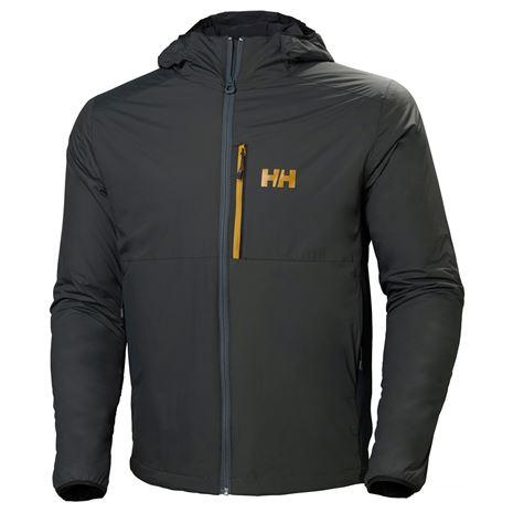 Helly Hansen Odin Stretch Hooded Light Insulator Jacket - Charcoal