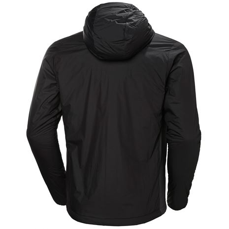 Helly Hansen Odin Stretch Hooded Light Insulator Jacket - Black - Rear
