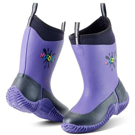 Grubs Muddies Icicle 5.0 Kids Wellington Boots - Violet