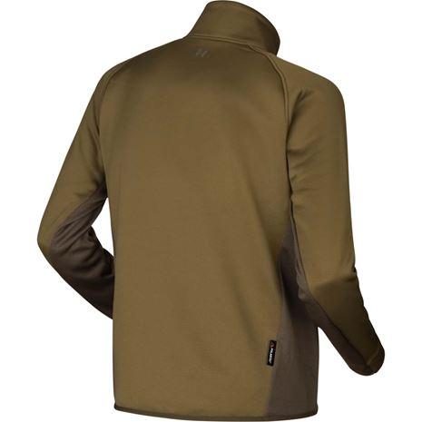 Harkila Borr Hybrid Fleece Jacket - Dark Olive