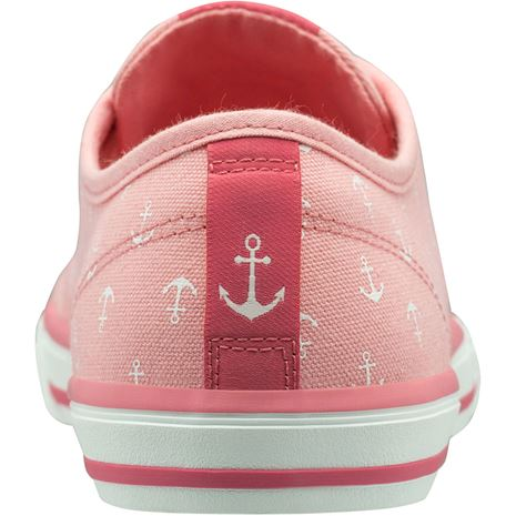 Helly Hansen W Fjord Canvas Shoe V2 - Flamingo Pink / Off White
