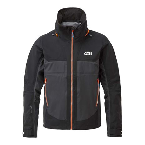 Gill Race Fusion Jacket - Black/Graphite