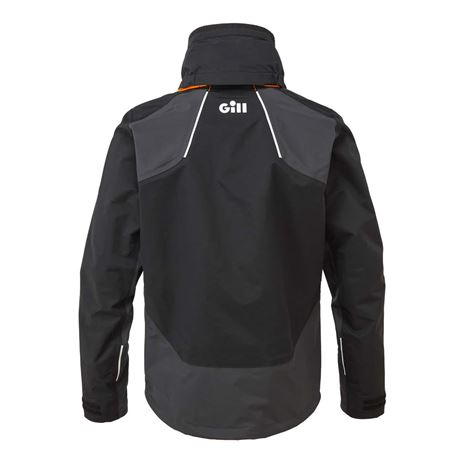Gill Race Fusion Jacket - Black/Graphite - Rear