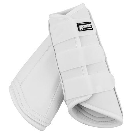 Roma Neoprene Brushing Boots - White
