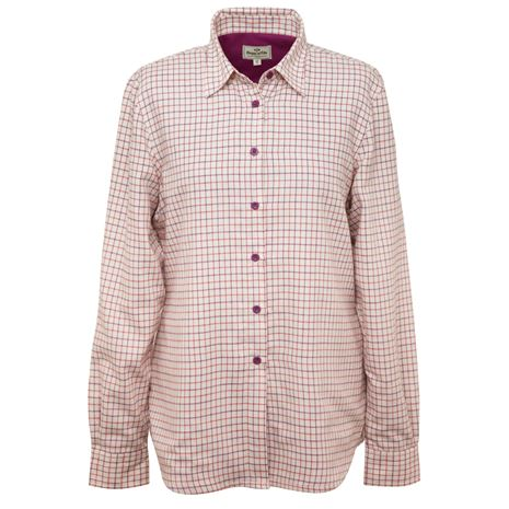 Hoggs of Fife Alba Ladies Jersey-Lined Shirt