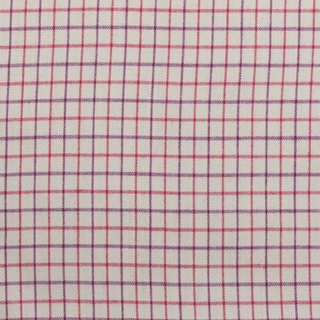 Hoggs of Fife Alba Ladies Jersey-Lined Shirt Swatch