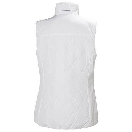 Helly Hansen Womens Crew Insulator Vest - White - Rear