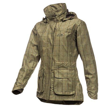 Baleno Pembroke Women's Jacket - Khaki Tweed Check