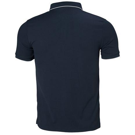 Helly Hansen Kos Polo Shirt - Navy - Rear