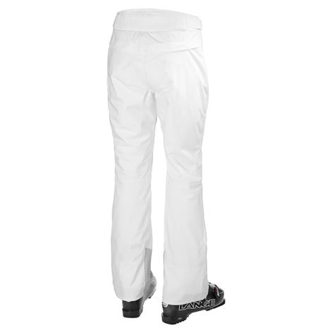 Helly Hansen Womens Legendary Insulated Pant - White - Rear