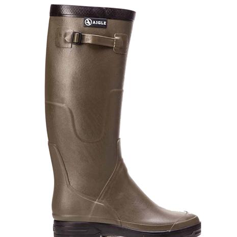 Aigle Benyl Wellington Boot - Khaki