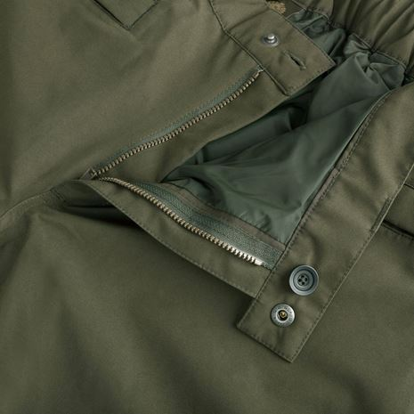 Musto Highland Gore-Tex Ultra Lite Trousers - Dark Moss - Zip