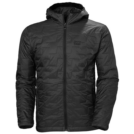 Helly Hansen Lifaloft Hooded Insulator Jacket - Black Matte