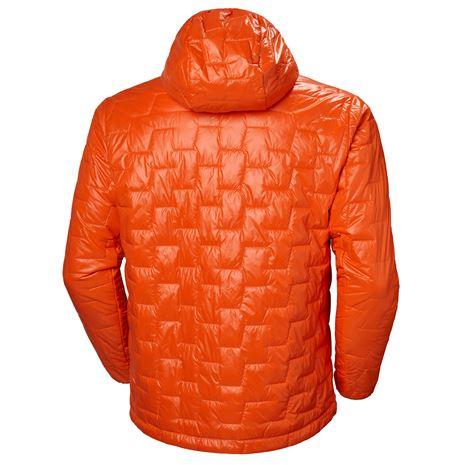 Helly Hansen Lifaloft Hooded Insulator Jacket - Bright Orange - Rear