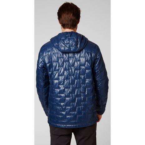 Helly Hansen Lifaloft Hooded Insulator Jacket - North Sea Blue - Rear