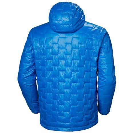 Helly Hansen Lifaloft Hooded Insulator Jacket - Electric Blue - Rear