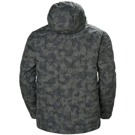 Helly Hansen Lifaloft Hooded Insulator Jacket - Charcoal Camo